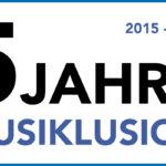 5 Jahre Musiklusion - Happy birthday!